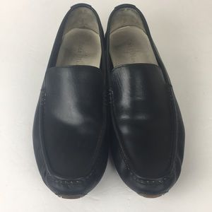 Cole Haan Black Slip On Leather Loafers 11